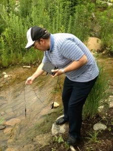 Steven Smith Sampling Water